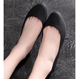Giày nhựa đi mưa búp bê công sở đế mềm siêu nhẹ form chuẩn 182