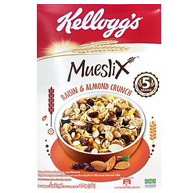 Ngũ Cốc Ăn Sáng Kellogg's Mueslix Raisin & Almond Crunch 375g