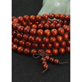 Vòng chuỗi hạt đeo tay gỗ 108 hạt phong thủy bình an