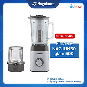 Máy Xay Sinh Tố Nagakawa NAG0811 (450W - 1.5 Lít) - Hàng Chính Hãng