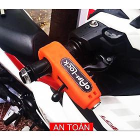 Khóa chống trộm cho xe máy Caps lock