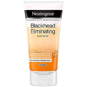 Sữa rửa mặt tẩy da chết hỗ trợ trị mụn đầu đen Neutrogena Blackhead Eliminating Facial Scrub
