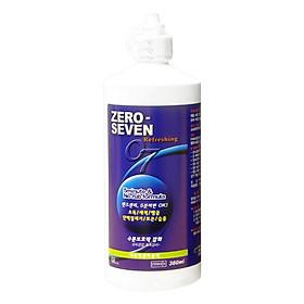 Nước Ngâm Và Bảo Quản Kính Áp Tròng Zero Seven (360ml)