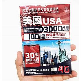 Sim du lịch Mỹ 30 ngày – 8GB & Nghe gọi - Hàng chính hãng