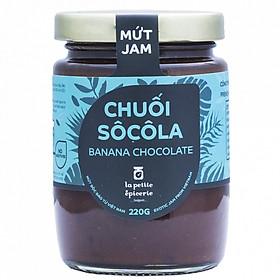 Mứt Chuối Chocolate - La Petite Epicerie Saigon 220g