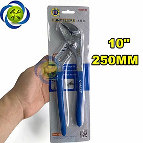 Kìm mỏ quạ C-MART B0006-10 cán bọc nhựa 250mm