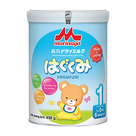 Sữa Morinaga Số 1 - Hagukumi (tách đai - 850g)