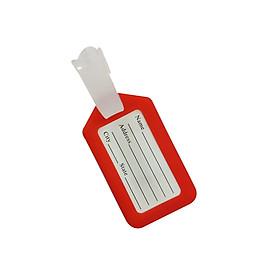 Thẻ tên treo vali du lịch bằng nhựa