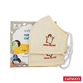 Khẩu trang Hanvico dành cho trẻ em ( 2 cái )