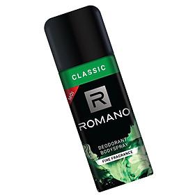 Combo 2 Xịt toàn thân Romano Classic cổ điển lịch lãm 150ml