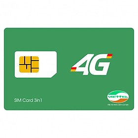 SIM 4G Viettel D900 Miễn Phí 1 Năm (7GB/tháng) - Hàng chính hãng - Mẫu ngẫu nhiên