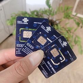 Sim du lịch Trung Quốc 10GB/ 30 ngày Tốc Độ 4G