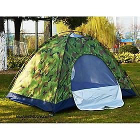 Lều cắm trại du lịch 4 người màu rằn ri
