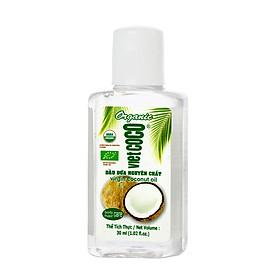 Dầu dừa nguyên chất Organic Vietcoco (30ml)