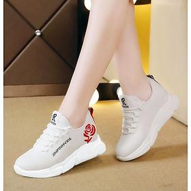 Giầy sneaker nữ buộc dây V201