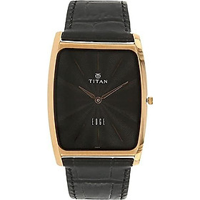 Titan Edge Men's Designer Watch – Slim, Quartz, Water Resistant