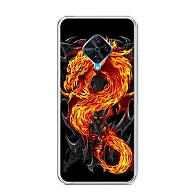Ốp lưng dẻo cho điện thoại Vivo S1 PRO - 0218 FIREDRAGON - Hàng Chính Hãng