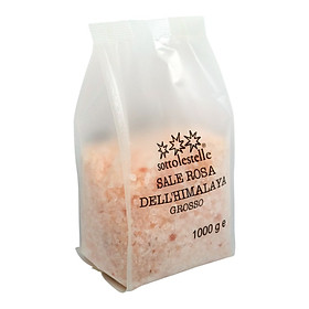 Muối hồng Himalaya Không qua tinh chế Sottolestelle Himalayan Pink Salt 1000g