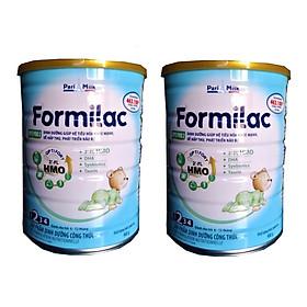 Bộ 2 Lon Sữa công thức Formilac Optipro số 2 (6-12 tháng) - 900g-0