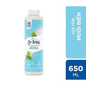Sữa tắm dưỡng da St.Ives Muối biển 650ml