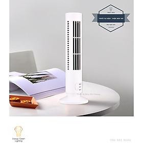 Quạt Mini Điều Hòa Để Bàn Hình Tháp Q-530 - Điều Hòa Không Khí Dọc Quạt Tháp - Cắm Điện Dây USB