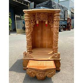 Bàn thờ thần tài ông địa 42 x 68cm BTX4268QT