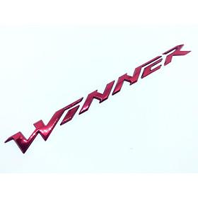 Tem chữ nổi Winner chính hãng Honda - nhiều màu