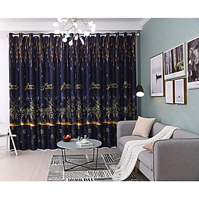1pc Starlight Little Fawn Pattern Tulle Curtains for Christmas Window Home Decor