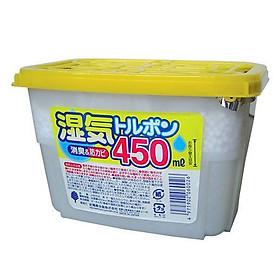 Hộp hút ẩm tủ quần áo 450ml Nhật Bản