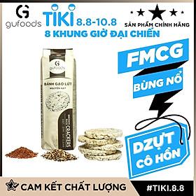 Bánh gạo lứt hạt quinoa ăn kiêng GUfoods - Hỗ trợ Giảm cân, Tập Gym, Thực dưỡng, Eat clean