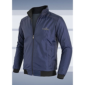 Áo khoác nam cách nhiệt GOKING có túi trong và 2 túi ngoài dây kéo, vải dù ấm áp, cản gió hiệu quả