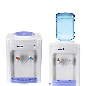 Cây Máy nước nóng lạnh văn phòng để bàn mini Huastar làm nóng lạnh cực nhanh, tiết kiệm điện, có rơ re tự ngắt chống giật -  Hàng chính hãng