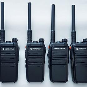 Bộ 4 máy bộ đàm Motorola CP 102(chính hãng)