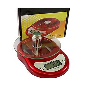 Cân điện tử nhà bếp 5kg, mặt kiếng