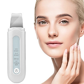 Ultrasonic Ion Cleanser Skin Purifier Facial Deep Cleaning Machine Acne Blackhead Removal Pore Cleanser
