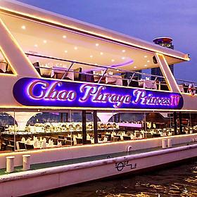Bữa Tối Trên Chao Phraya Princess (Từ Bến Tàu River City Pier)