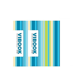 Combo 02 Quyển Tập Sinh Viên 200 Trang Kẻ Ngang Vibook TKN200-4 (Màu Ngẫu Nhiên)