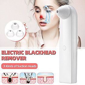 Blackhead Remover Face Deep Nose Cleaner T Zone Pore Acne Pimple Removal Electric Facial Beauty Mini Portable Clean Skin Tool