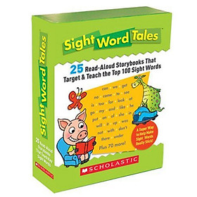 Sight Word Tales  : 25 Read-Aloud Storybooks That Target and Teach the Top 100 Sight Words (Box set)