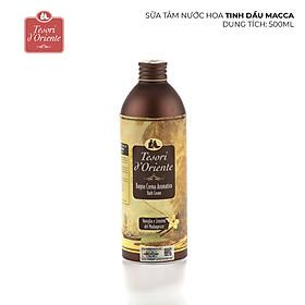 Sữa Tắm Hương Nước Hoa Italia Tesori D'Oriente Vanilla & Ginger - Tinh Dầu Macca (500ml)