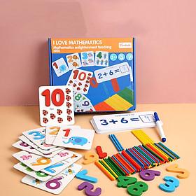 Đồ chơi giáo dục - Bộ đồ chơi học chữ số và phép tính cho bé