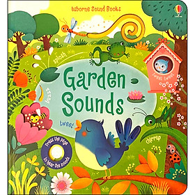 Usborne Garden Sounds (Touchy-feely Sound Books)