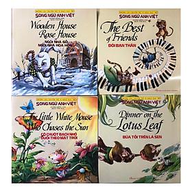Combo Những Câu Chuyện Thú Vị Giáo Dục Trẻ - Đôi bạn thân, Bữa tối trên lá sen, Ngôi nhà gỗ, ngôi nhà hoa hồng, Cô chuột bạch nhỏ đuổi theo mặt trời