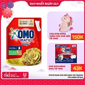 Túi Nước Giặt OMO Matic Comfort Hương Tinh dầu thơm 3.7kg