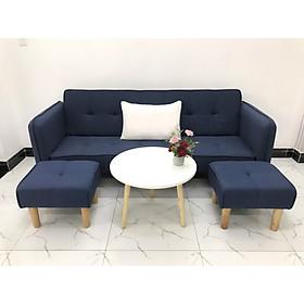 Bộ ghế sofa giường sofa bed tay vịn phòng khách sopha sivali09 salon