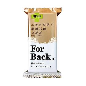 Xà phòng tắm làm sạch mụn lưng For Back hương thảo dược hàng nội địa Nhật (Tặng móc khóa Family Decor)