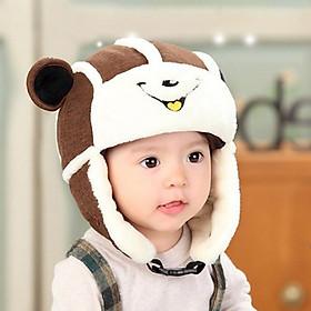 Set mũ trùm kèm khẩu trang cho bé