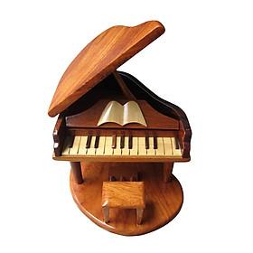 Mô hình đàn gỗ piano