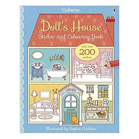 Sách tô màu Doll's House Sticker And Colouring Book