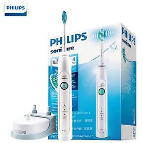 Bàn chải đánh răng điện Philips Sonicare HX6730/02 cao cấp nhỏ gọn, loại bỏ mảng bám và làm trắng răng, điện áp tự động 110-220 V
